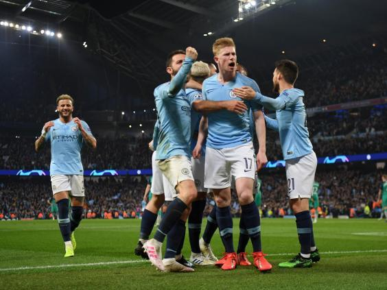 De Bruyne was excellent in a losing cause against Tottenham a year ago (Getty Images)