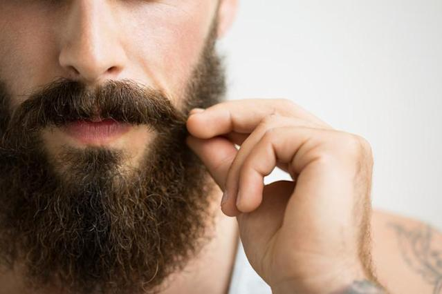 Here's another crazy trend in facial hair. (Photo: Getty Images)
