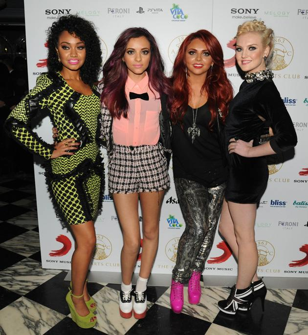 Little Mix were at the party at Dover Street Arts Club.