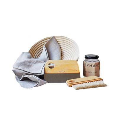 "<p><a class=""link rapid-noclick-resp"" href=""https://www.pophamshome.com/shop/p/pophams-sourdough-starter-kit"" rel=""nofollow noopener"" target=""_blank"" data-ylk=""slk:SHOP"">SHOP</a></p><p>Home baking was on the rise this year, but if like us your loaves were rather less impressive than you'd hoped, this sourdough starter kit from hit London bakery Pophams is the answer. The kit comes with everything you need including a dough scraper, proving basket, baker's brush and some of the bakery's own starter.</p><p>£65, <a href=""https://www.pophamshome.com/shop/p/pophams-sourdough-starter-kit"" rel=""nofollow noopener"" target=""_blank"" data-ylk=""slk:Pophams Home"" class=""link rapid-noclick-resp"">Pophams Home</a></p>"