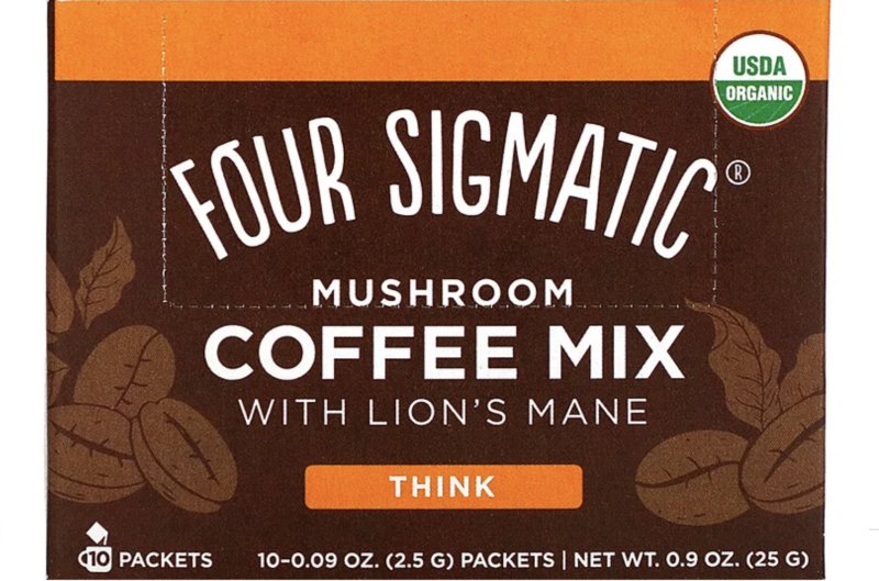 Four Sigmatic, Mushroom Coffee Mix with Lion's Mane. PHOTO: iHerb