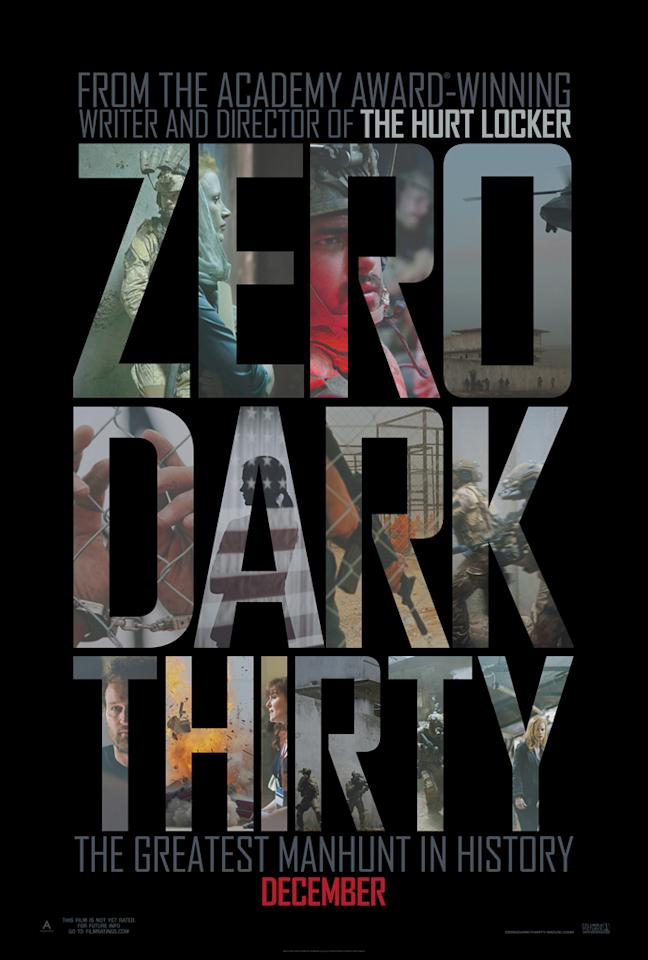 Columbia Pictures' 'Zero Dark Thirty' - 2012