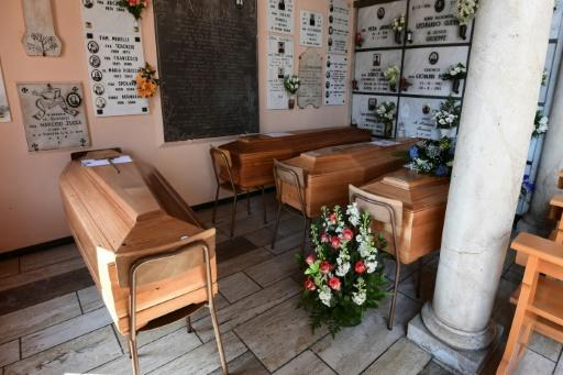 Coffins have been made, but families will not be able to attend the funerals of loved ones, because of the restrictions in force