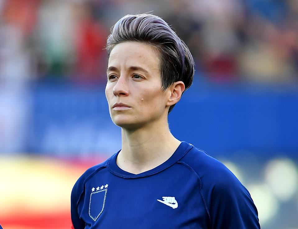 A judge ruled against Megan Rapinoe and the USWNT on Friday. (Photo by Alika Jenner/Getty Images)