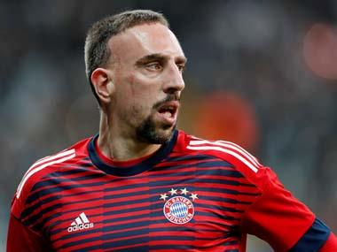 Bundesliga: Bayern Munich star Franck Ribery facing spell on sidelines after tearing hamstring in Doha training camp