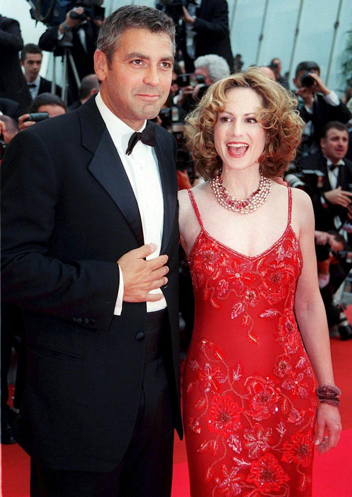 """<p>""""It was really cool to get to hang out with George [Clooney],"""" says Hunter of her second Coen brothers gig, 2000's <em>O Brother, Where Art Thou?</em>. """"He's incredibly good-looking."""" </p> <p>Her first Coen brothers film, 1997's <em>Raising Arizona, </em>paired her with Nicolas Cage. The comedy eventually became a cult hit. """"People love to say lines to me on the street,"""" she says.</p>"""