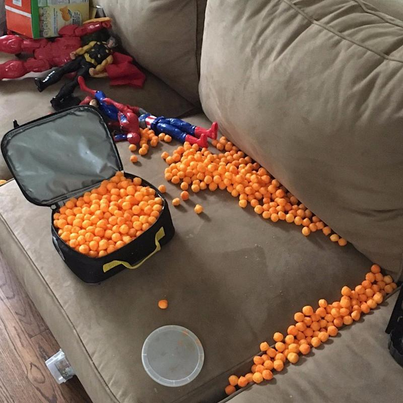 """This Is What Happens When a 3-Year-Old """"Packs His Own Lunch"""""""