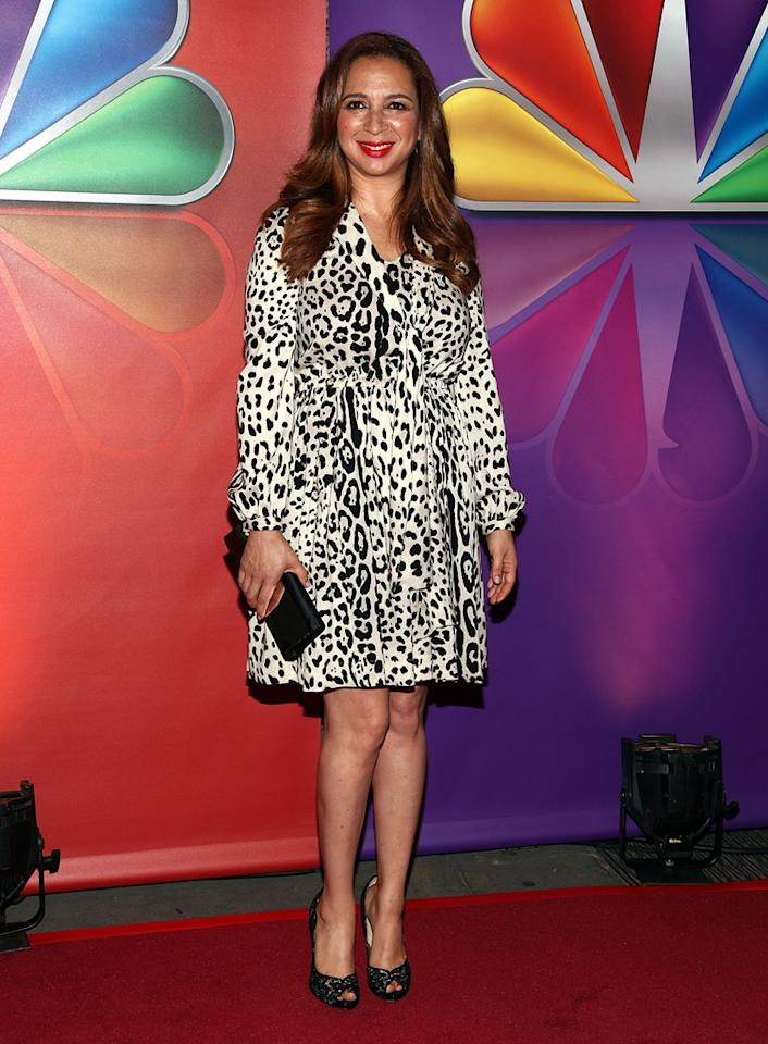 "Maya Rudolph (""Up All Night"") attends NBC's 2012 Upfront Presentation at 51st Street on May 14, 2012 in New York City."