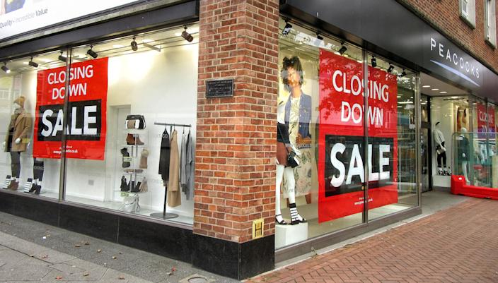 11,120 chain operator outlets have shut so far this year, while 5,119 shops opened. Photo: Keith Mayhew/SOPA Images/LightRocket via Getty