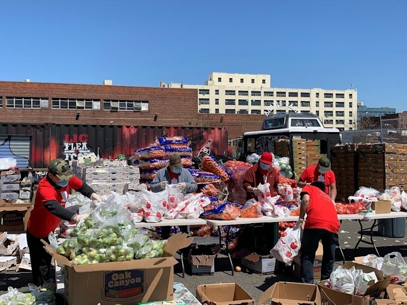 A new food pantry based in Long Island City is on a mission to keep thousands of families across western Queens from going hungry during the pandemic.
