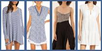 """<p>There's <a href=""""https://www.townandcountrymag.com/style/fashion-trends/a27088762/summer-outfits-for-women/"""" rel=""""nofollow noopener"""" target=""""_blank"""" data-ylk=""""slk:dressing for the summer"""" class=""""link rapid-noclick-resp"""">dressing for the summer </a>and then there's <a href=""""https://www.townandcountrymag.com/style/fashion-trends/a32620024/beach-outfits/"""" rel=""""nofollow noopener"""" target=""""_blank"""" data-ylk=""""slk:dressing for the beach"""" class=""""link rapid-noclick-resp"""">dressing for the beach</a>. While the latter may involve a<a href=""""https://www.townandcountrymag.com/style/fashion-trends/g32390597/best-caftan-dresses/"""" rel=""""nofollow noopener"""" target=""""_blank"""" data-ylk=""""slk:caftan or two"""" class=""""link rapid-noclick-resp""""> caftan or two</a>, it's key that you keep things effortless. Especially when swimming is involved. Surely, you'll be wearing a timeless <a href=""""https://www.townandcountrymag.com/style/fashion-trends/tips/g2266/best-one-piece-swimsuits/"""" rel=""""nofollow noopener"""" target=""""_blank"""" data-ylk=""""slk:one piece"""" class=""""link rapid-noclick-resp"""">one piece</a> or a classic bikini that flatters, but equally important for your beach or pool ensemble is your choice of coverup. Whether you want a sarong, an airy <a href=""""https://www.townandcountrymag.com/style/g36049039/best-linen-dresses-women/"""" rel=""""nofollow noopener"""" target=""""_blank"""" data-ylk=""""slk:linen number"""" class=""""link rapid-noclick-resp"""">linen number</a>, or perhaps a crochet minidress to take your look to the next level, these coverups will have your beach style elevated in no time. </p>"""