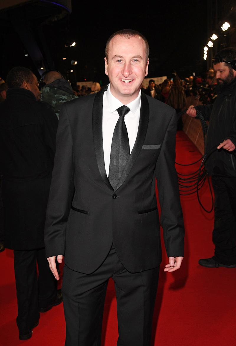 Andrew at the National Television Awards in 2017 (Photo: David M. Benett via Getty Images)