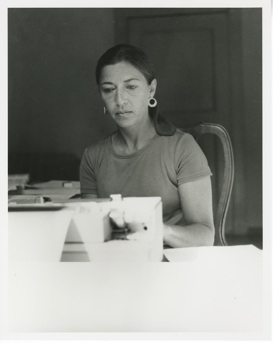 Ginsburg while on a Rockefeller Foundation fellowship in Italy. (Photo: Supreme Court of the United States)