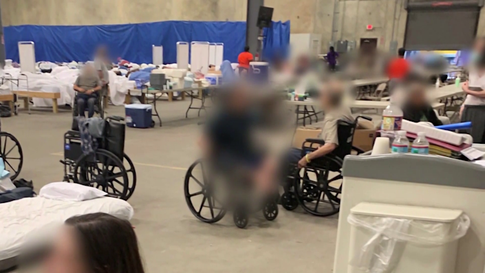 At least seven nursing home evacuees died after they were moved to a Louisiana warehouse before Hurricane Ida made landfall. / Credit: CBS News