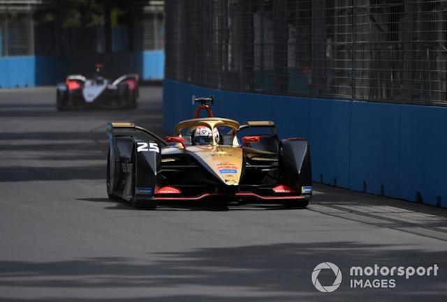"Jean-Eric Vergne, DS Techeetah, DS E-Tense FE20 <span class=""copyright"">Sam Bagnall / Motorsport Images</span>"