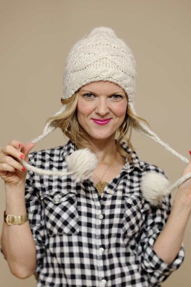 PARK CITY, UT - JANUARY 23:  Actress Arden Myrin poses for a portrait during the 2012 Sundance Film Festival at the Getty Images Portrait Studio at T-Mobile Village at the Lift on January 23, 2012 in Park City, Utah.  (Photo by Larry Busacca/Getty Images)
