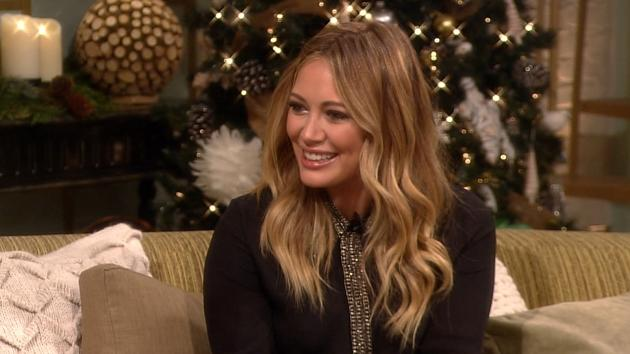 Hilary Duff on Access Hollywood Live, December 14, 2012 -- Access Hollywood