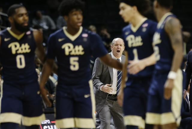 Pitt capped off its season with its 19th loss in 19 ACC games against Notre Dame on Tuesday. (AP)