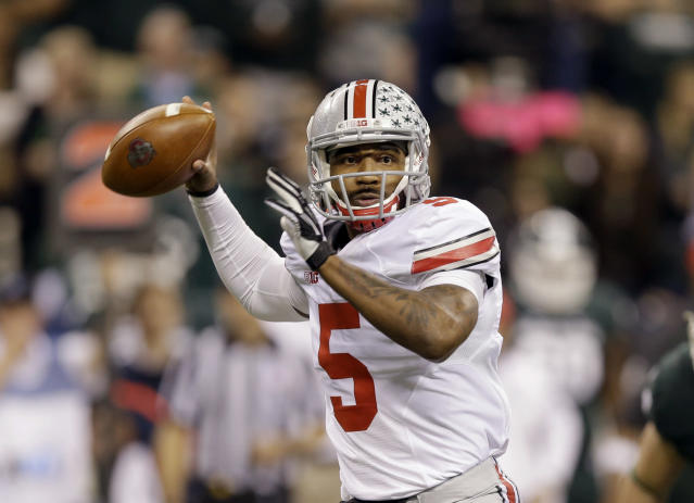 Billboard telling Ohio State QB Braxton Miller to get well appears in Columbus