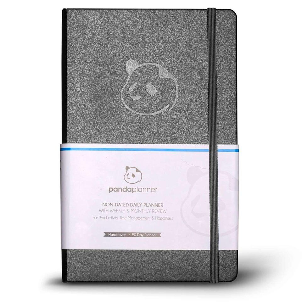 """<p><strong>Panda</strong></p><p>pandaplanner.com</p><p><strong>$24.97</strong></p><p><a href=""""https://go.redirectingat.com?id=74968X1596630&url=https%3A%2F%2Fpandaplanner.com%2Fproducts%2Fpanda-planner-classic-original&sref=https%3A%2F%2Fwww.countryliving.com%2Fhome-maintenance%2Forganization%2Fg34618098%2Fbest-daily-planners-organizers%2F"""" rel=""""nofollow noopener"""" target=""""_blank"""" data-ylk=""""slk:Shop Now"""" class=""""link rapid-noclick-resp"""">Shop Now</a></p><p>The Panda Planner not only gives you a place to jot down your to do list, it makes it easy to set goals and keep your focus. There is a money back guarantee on the off chance it doesn't work for you. </p>"""