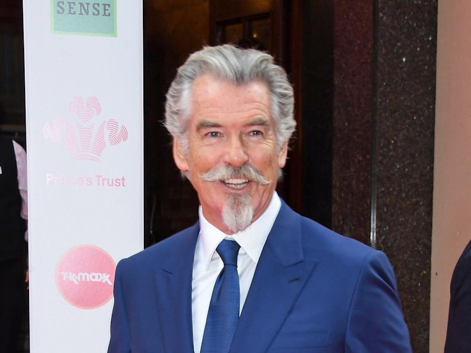 Pierce Brosnan photographed in March 2020 (Getty Images)
