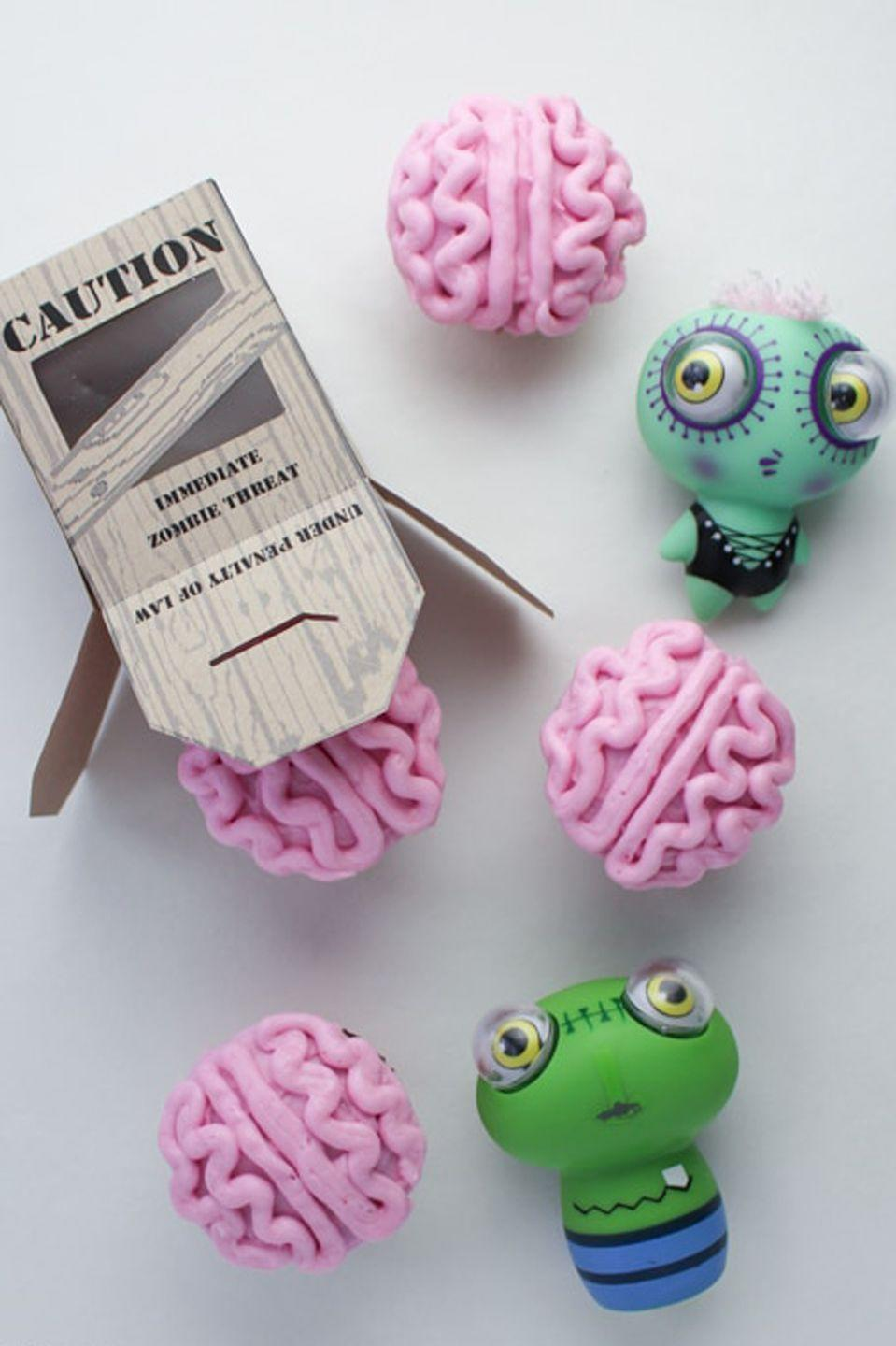 """<p><em>Walking Dead</em> fans, these brainy cupcakes are practically made for you.</p><p><em><a href=""""https://brendid.com/all-natural-zombie-brain-cupcakes/"""" rel=""""nofollow noopener"""" target=""""_blank"""" data-ylk=""""slk:Get the recipe at Brendid »"""" class=""""link rapid-noclick-resp"""">Get the recipe at Brendid »</a></em></p>"""