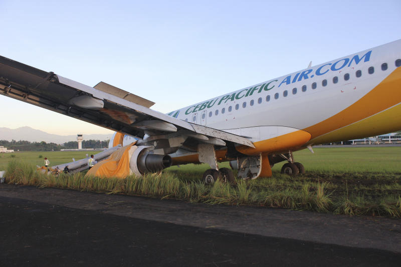 Philippines probes Cebu Pacific for rough landing