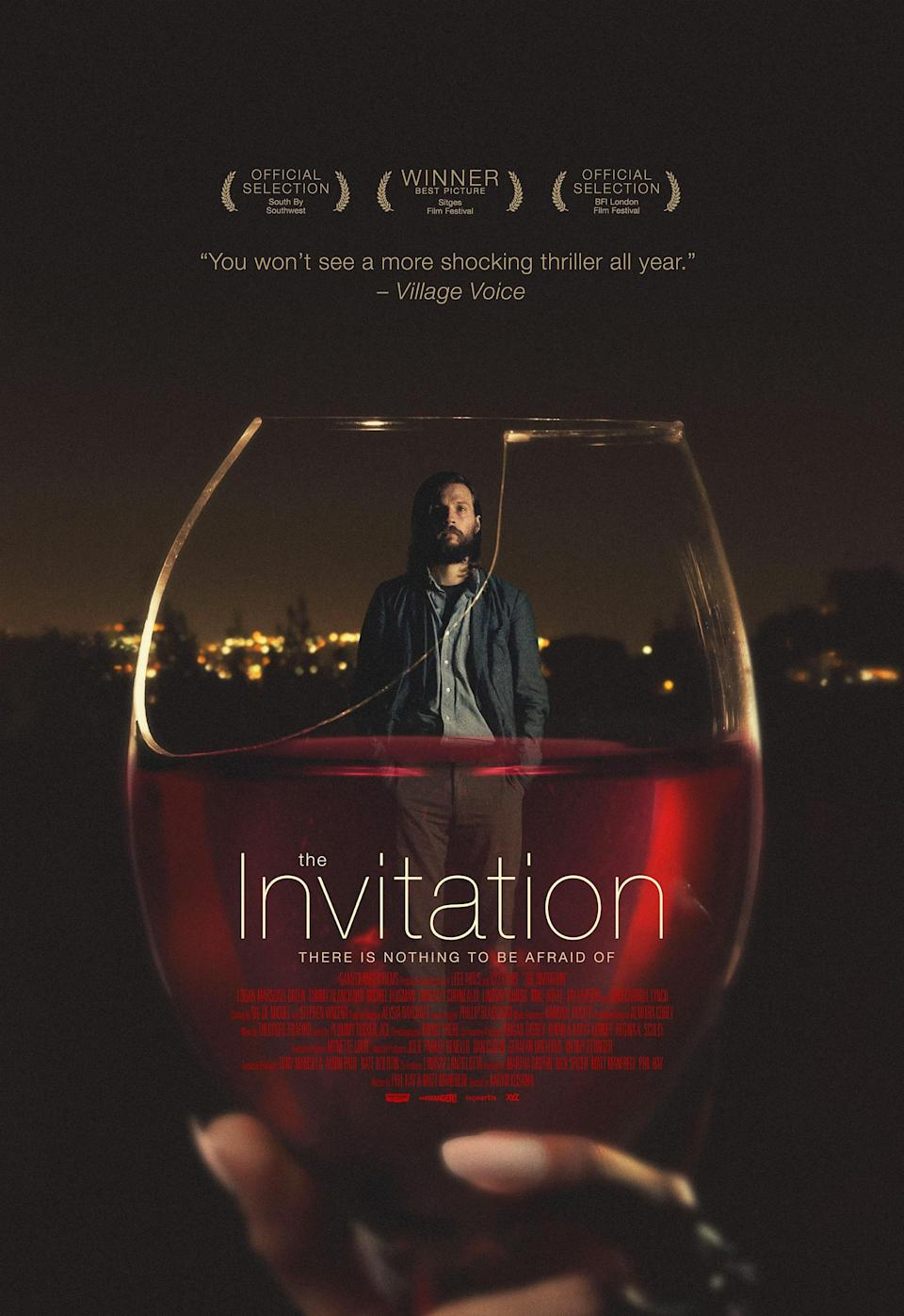 """<p>""""<em>The Invitation</em> is a hidden gem of a horror movie,"""" Rosa says of this Karyn Kusama–directed indie. """"The plot is simple but effective: Guests gather for a dinner party, and as the night goes on, they start to wonder if the hosts have ulterior motives. You truly do not know the answer until the very end—and let me tell you, the payoff is satisfying."""" </p> <p><a href=""""https://www.netflix.com/title/80048977"""" rel=""""nofollow noopener"""" target=""""_blank"""" data-ylk=""""slk:Available to stream on Netflix"""" class=""""link rapid-noclick-resp""""><em>Available to stream on Netflix</em></a></p>"""