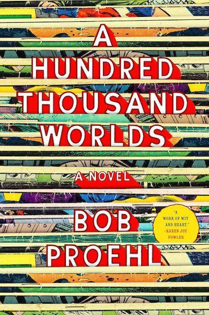 """<p><em><strong>A Hundred Thousand Worlds</strong></em></p><p>By Bob Proehl</p><p>Valerie Torrey and her son Alex fled Los Angeles for New York six years ago in the wake of a family tragedy, leaving behind her husband and her role in a cult sci-fi series. But now Valerie must confront her past, reuniting father and son: She plunks 9-year-old Alex in the car for a road trip across America, making pit stops at comic-book conventions along the way.</p><p>A tribute to the pleasures of fandom – as well as to the special connection between a mother and her only child – <em>A Hundred Thousand Worlds</em> has been touted as the <em>Kavalier & Clay</em> for a new generation. Equal parts great American road-trip narrative and coming-of-age novel, this brilliant debut is a treat for diehard nerds. </p><span class=""""copyright""""><strong>Image: Viking.</strong></span>"""