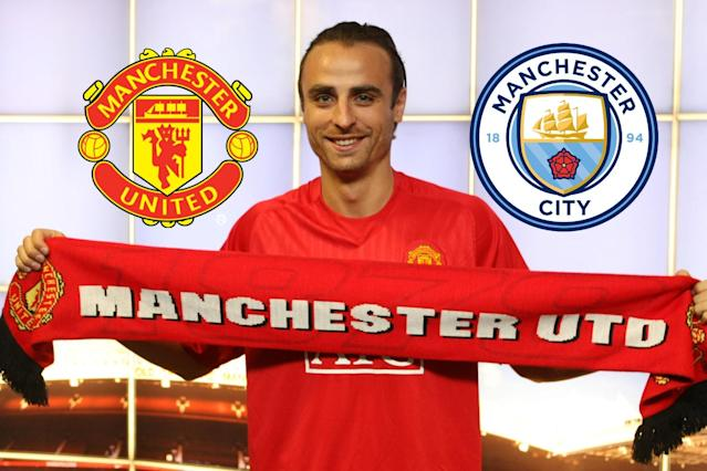 Dimitar Berbatov could have signed for City, but he only had eyes for United