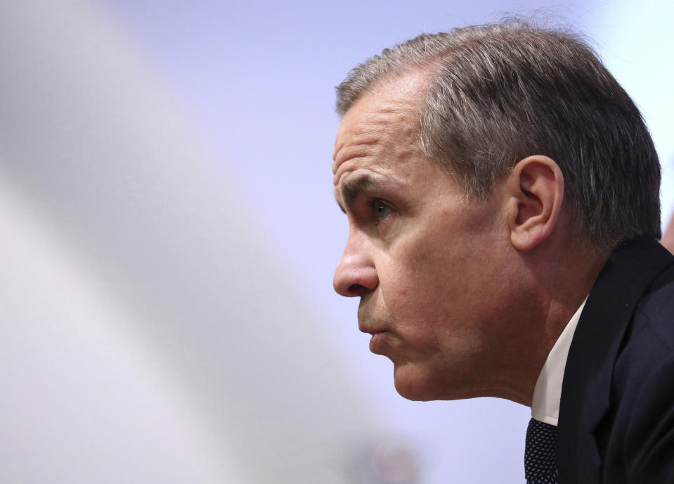 Mark Carney, former governor of the Bank of England. Photo: Jonathan Brady/Pool via AP