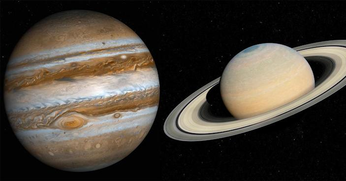 Jupiter and Saturn will come within 0.1 degrees of each other on December 21, 2020, during what is known as the