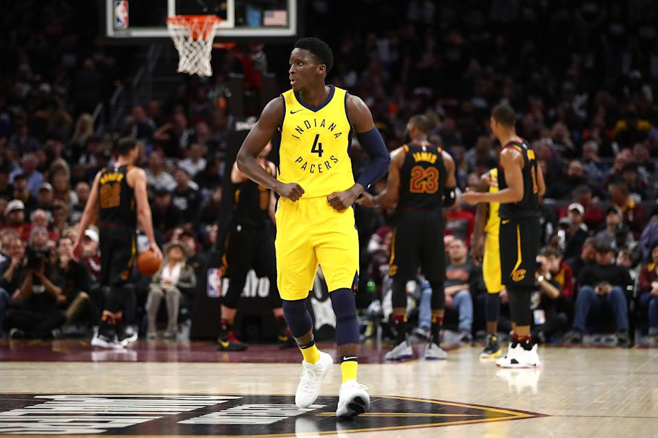 Savvy auction drafters could force their opponents to overpay for someone like Victor Oladipo. (Getty Images)