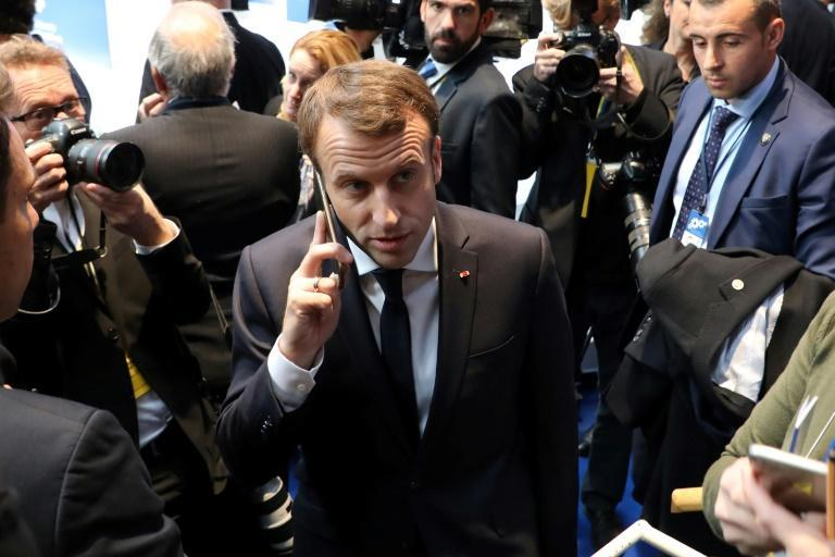 France's Emmanuel Macron was one of the heads of state whose phone number was targeted, according to a media investigation