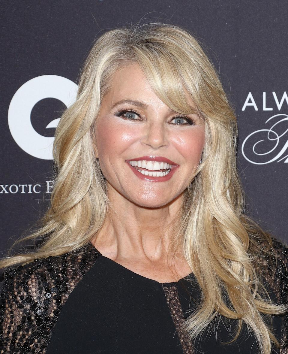 Christie Brinkley doesn't have time for haters.