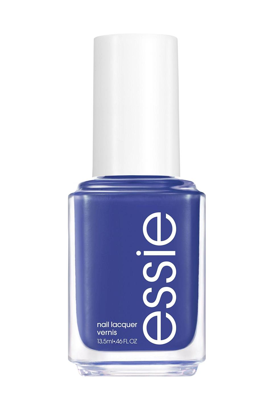 """<p><strong>Essie</strong></p><p>walmart.com</p><p><strong>$8.97</strong></p><p><a href=""""https://go.redirectingat.com?id=74968X1596630&url=https%3A%2F%2Fwww.walmart.com%2Fip%2F566558747&sref=https%3A%2F%2Fwww.marieclaire.com%2Fbeauty%2Fnews%2Fg3310%2Fbest-nail-colors-winter%2F"""" rel=""""nofollow noopener"""" target=""""_blank"""" data-ylk=""""slk:SHOP IT"""" class=""""link rapid-noclick-resp"""">SHOP IT</a></p><p>Summer may own some of the more playful shades in the rainbow, but a pop of bold blue can brighten up any cold weather ensemble. </p>"""