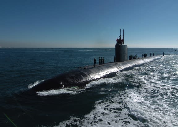 Thin 'Bubble' Coatings Could Hide Submarines from Sonar