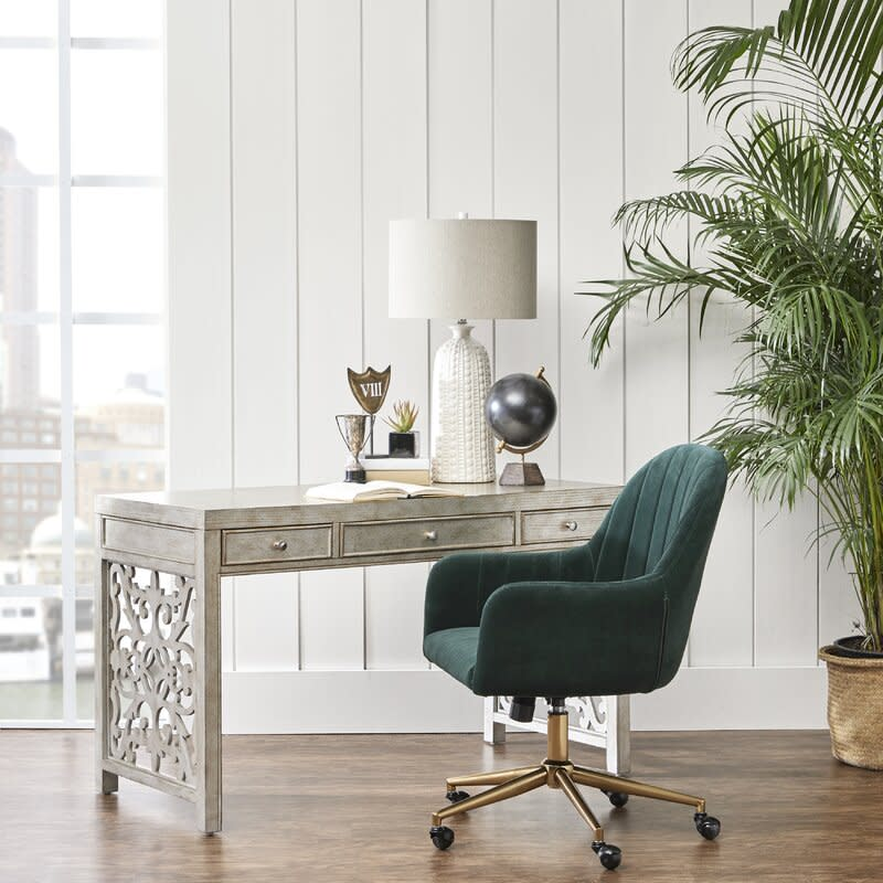 Flanigan Channel Tufted Task Chair