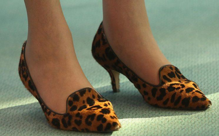 The heels that have drawn so many headlines [Photo: Getty]