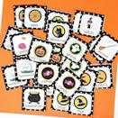 """<p>Print this memory match game on card stock to make sure each piece is fully opaque — no peeking! — and so that it endures through endless rounds of play. It's just right for kids from toddlers though elementary school age.</p><p><em><a href=""""https://www.papertraildesign.com/free-printable-i-spy-halloween-activity/"""" rel=""""nofollow noopener"""" target=""""_blank"""" data-ylk=""""slk:Get the printable at Paper Trail Design »"""" class=""""link rapid-noclick-resp"""">Get the printable at Paper Trail Design »</a></em></p>"""
