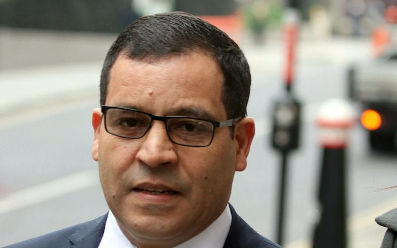 Mohamed Amrani is standing trial at the Old Bailey - Ed Willcox