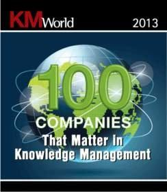 Huddle Named to KMWorld's List of 100 Companies That Matter in Knowledge Management