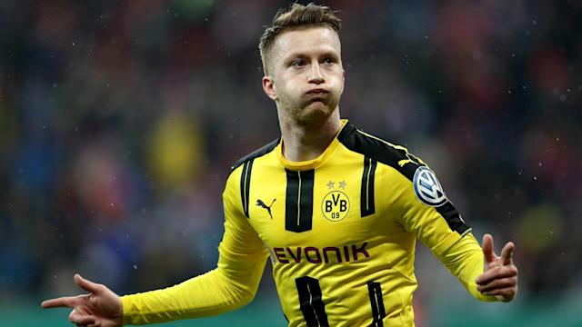 Marco Reus is back training with Borussia Dortmund after a lengthy lay-off, but Peter Stoger is hesitant to recall the recovering forward.