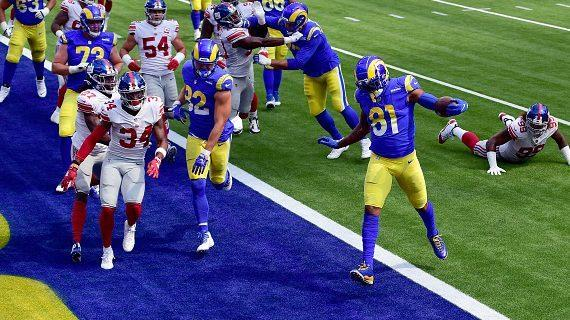 Rams keep Giants out of end zone in 17-9 win