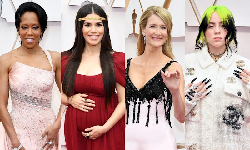 Regina King, America Ferrera, Laura Dern and Billie Eilish (Photo: Getty Images)
