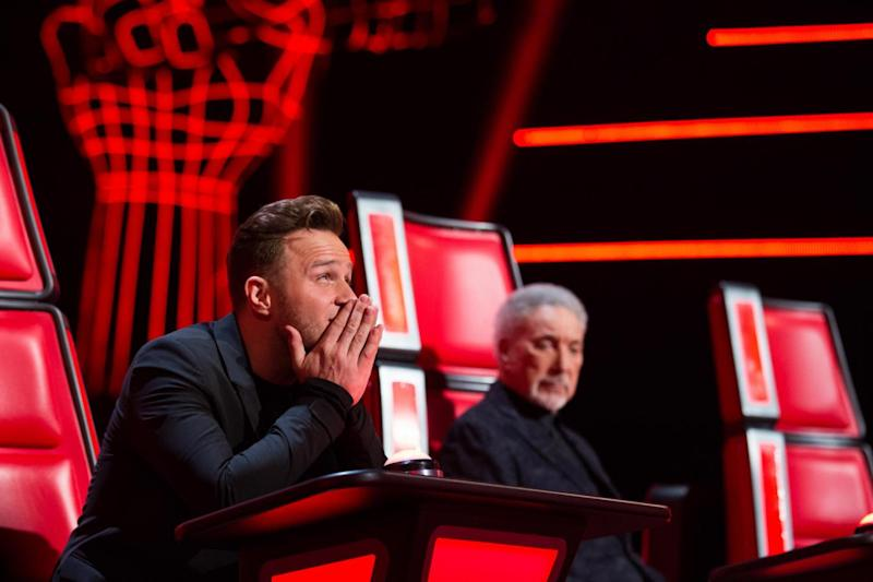 The Voice UK: Olly Murs joined as a coach and mentor for the 2018 series (ITV)