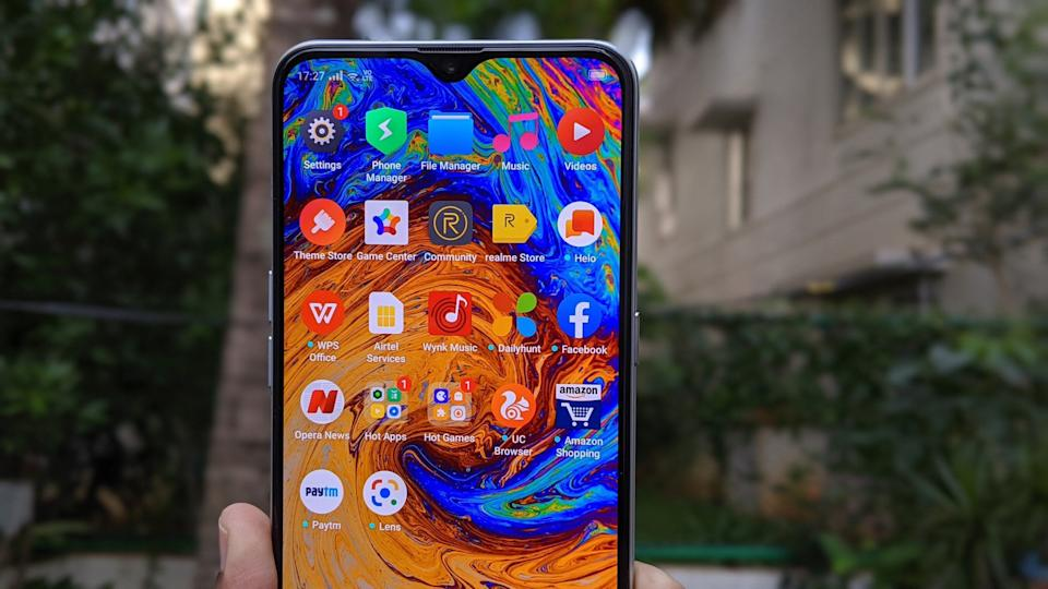 The Realme XT has a great looking display and performs smoothly, but some users might not be happy about the amount of bloatware on the phone. (Photo: Tushar Kanwar)