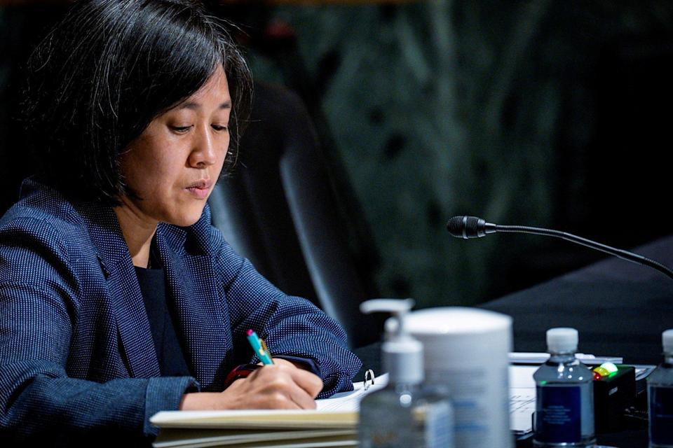 """US Trade Representative Katherine Tai said the aviation trade dispute suspension could be a model for how the countries can work together to tackle """"other challenges posed by China and non-market economic competition"""". Photo: Reuters"""