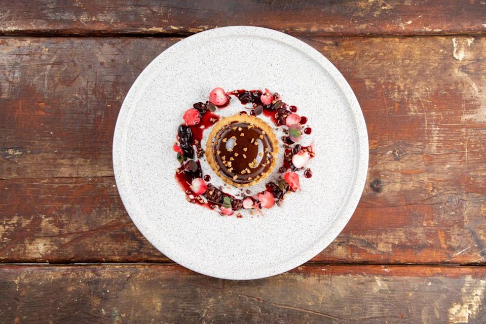 <p>This time next year: the restaurant's take on Millionaire's Shorbread</p>Only Food and Courses
