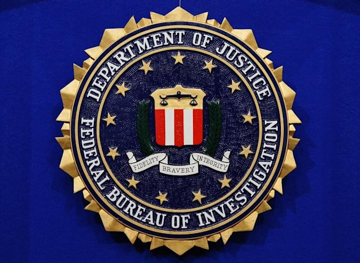 The seal of the Federal Bureau of Investigation.